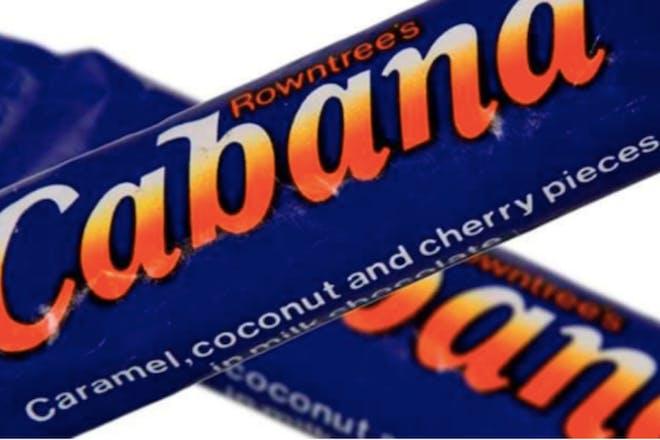 Rowntree's Cabana chocolate bar