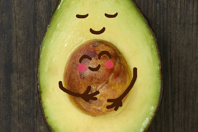 Avocado pregnancy announcement