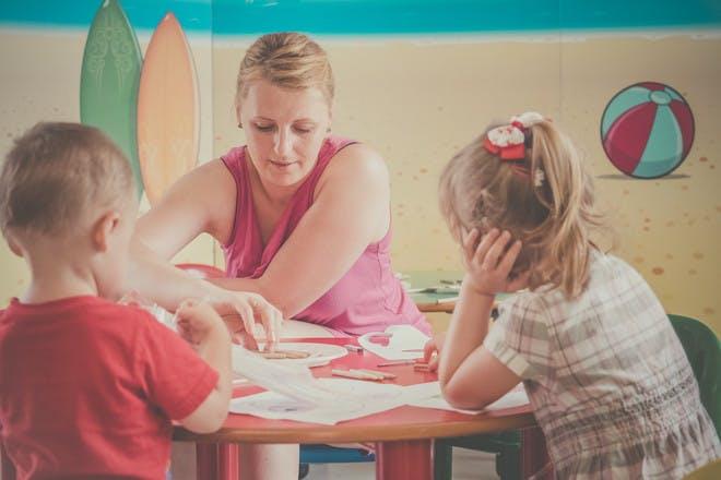 Kids in childcare