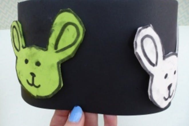 How to make an easy band Easter bonnet