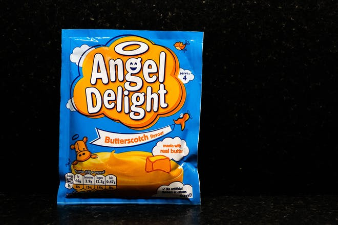 Butterscotch Angel Delight packet