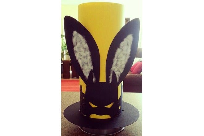 Batman Easter hat