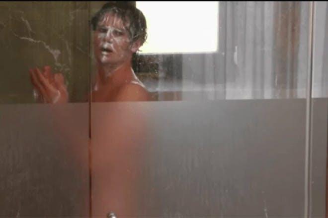 Love Island 2019 Joe in shower