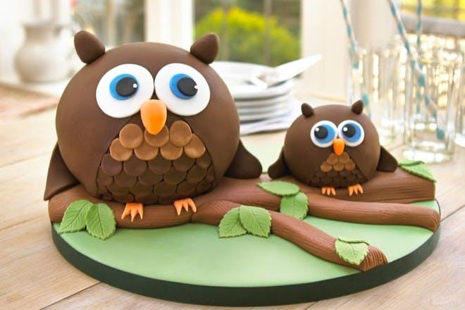 22. Owl cake
