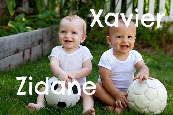 40. Zidane and Xavier