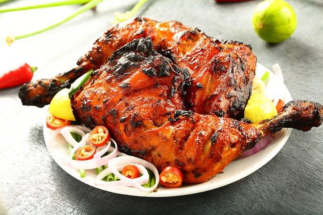 2. Tandoori chicken