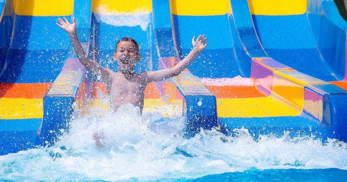 Top 21 Swimming Pools With Slides And Water Flumes Netmums
