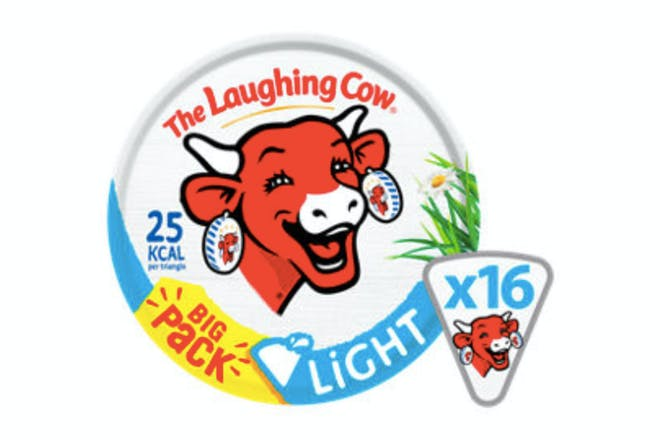 Laughing Cow Light Cheese Spread Triangles X16