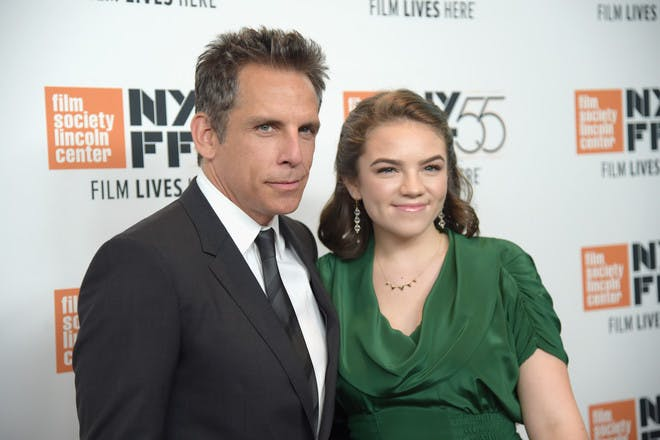 Ben Stiller and daughter Ella Olivia