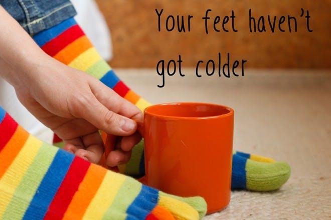 colourful socks