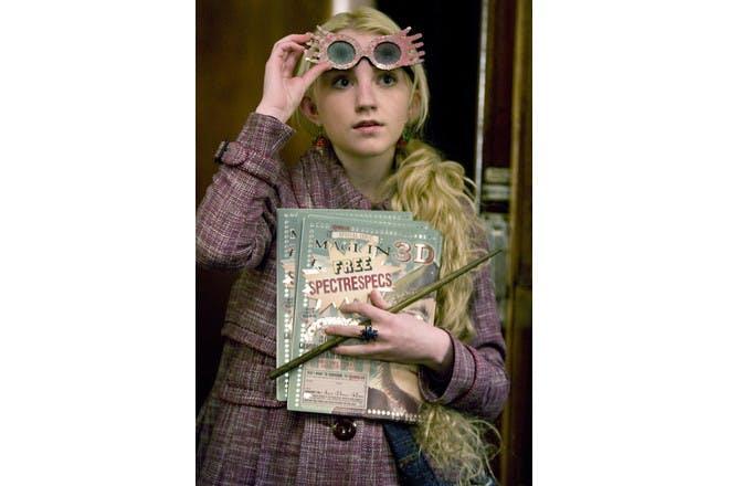 Luna Lovegood in Harry Potter