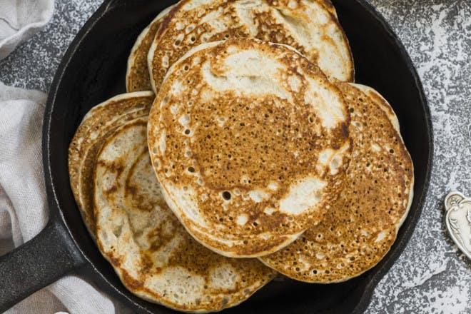 28. Vegan pancakes