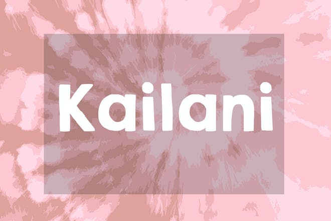 Kailani name