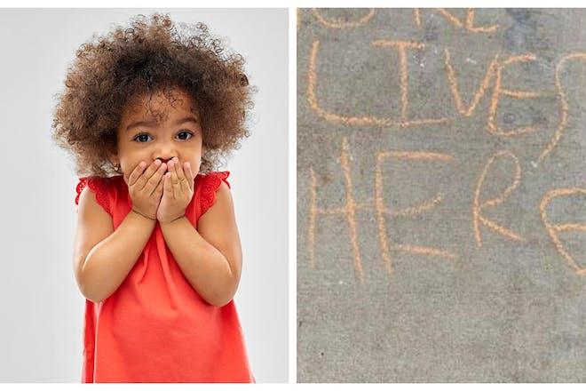 Coronavirus kids message fail