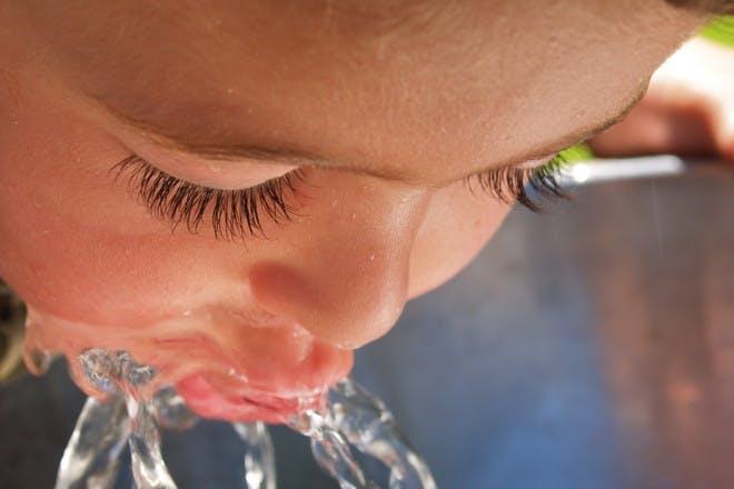 6. Take water bottles