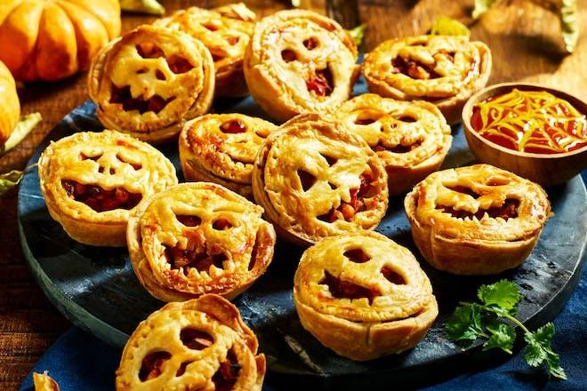 Quorn Halloween Mini Pies