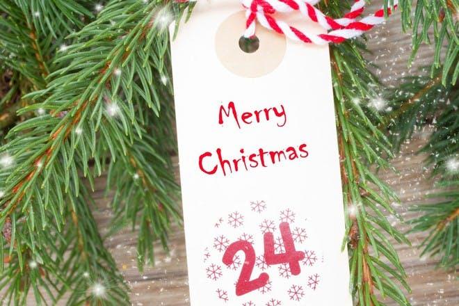 treasure hunt advent calendar