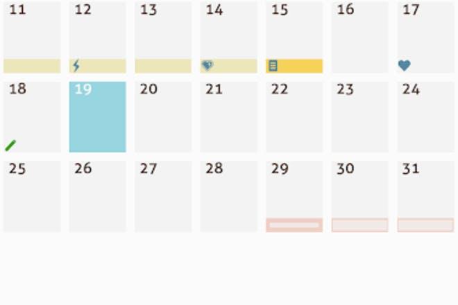 8. My Days X — Ovulation Calendar & Period Tracking