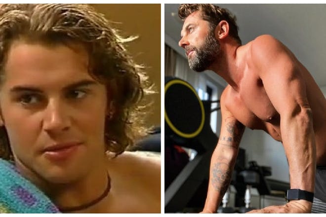 Daniel Macpherson now and then