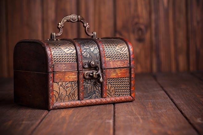 pretty treasure box