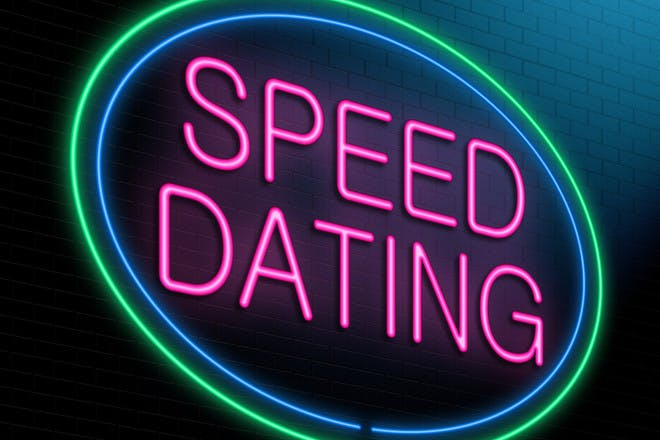 Neon sign reading speed dating