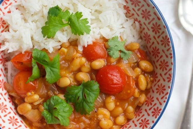 21. Baked bean curry