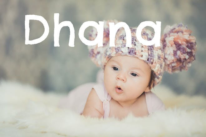 Baby name Dhana
