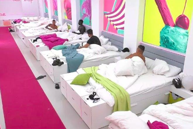 Love Island bedroom