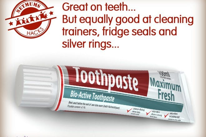 tube of toothpaste