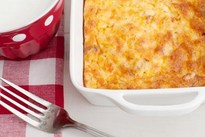 Egg & potato bake