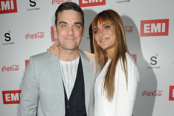 1. How did Robbie and Ayda meet?