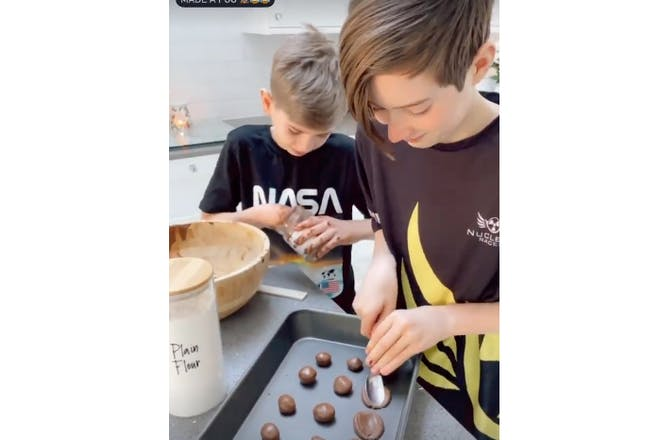 Stacey Nutella cookies
