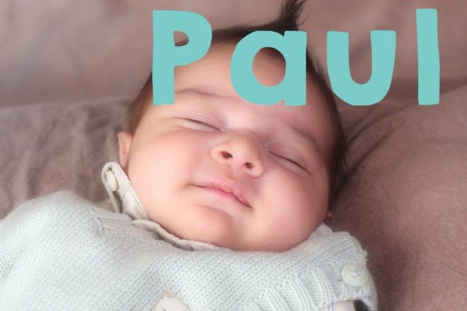 Baby name Paul