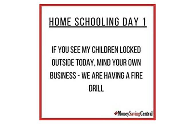 Homeschool meme