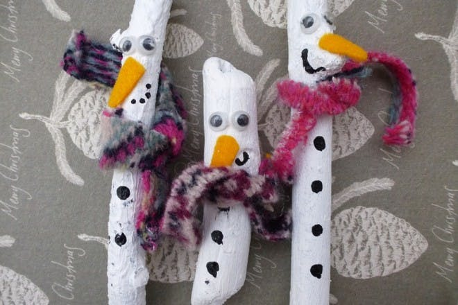 stickmen snowmen