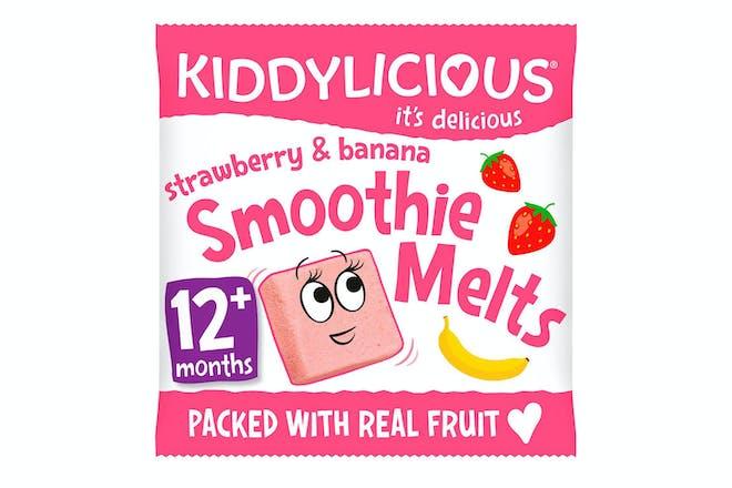 Kiddylicious Strawberry & Banana Smoothie Melts
