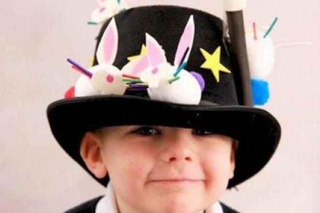 magician easter bonnet