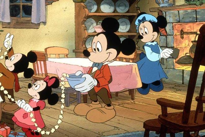 Mickey's Christmas Carol movie still