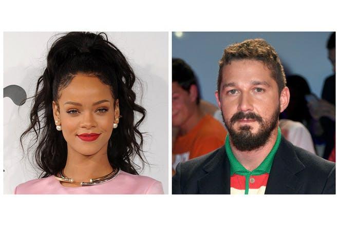Rihanna and Shia LaBeouf