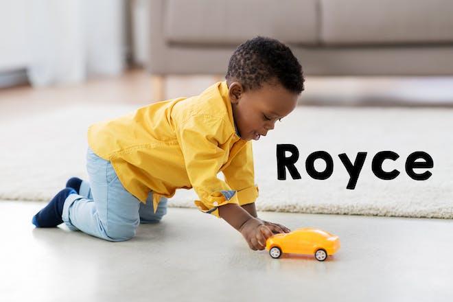 Royce baby name