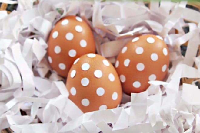 19. Dotted eggs