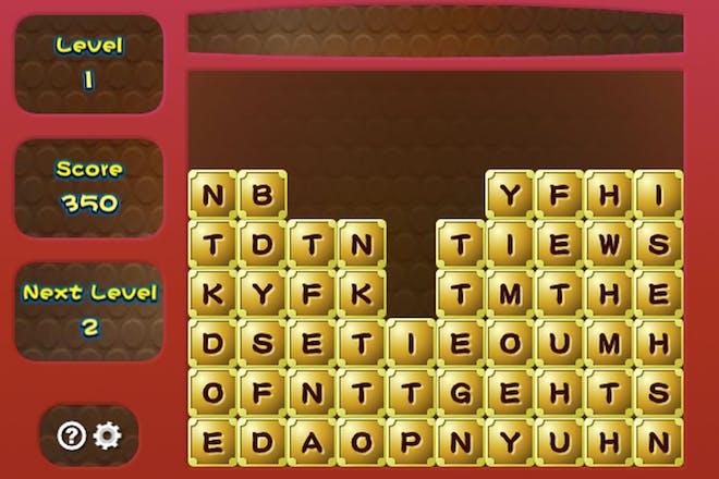 Letter Blocks screenshot