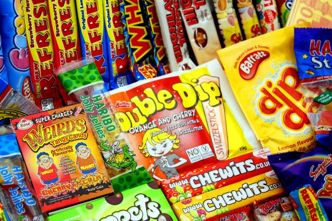 Collection of 90s tuck shop sweets
