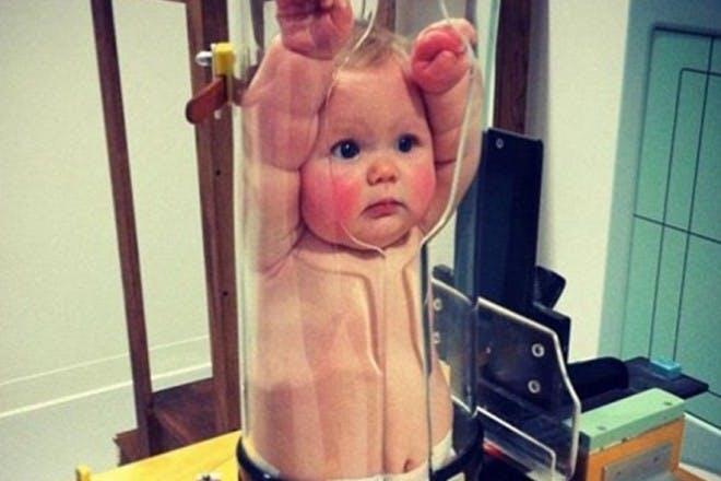 baby in jar
