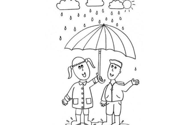 5. April showers