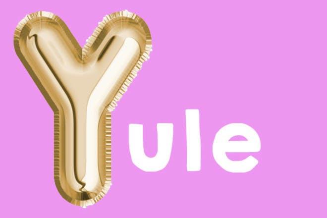 Yule 'y' name