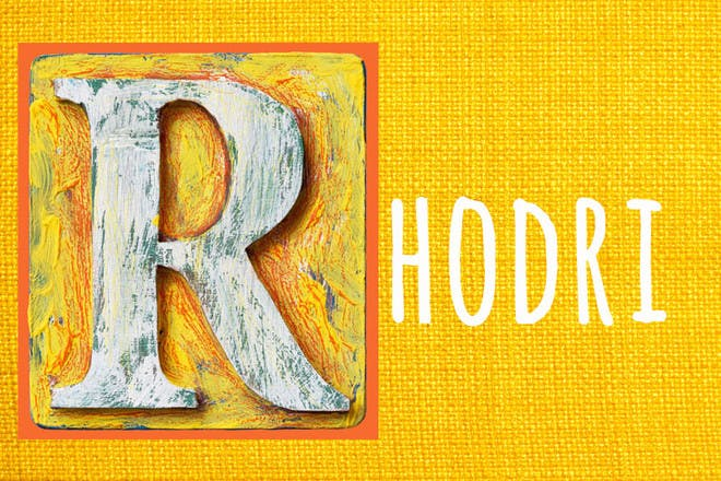 12. Rhodri