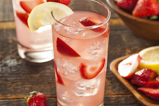 15. Strawberry Sparkle Punch
