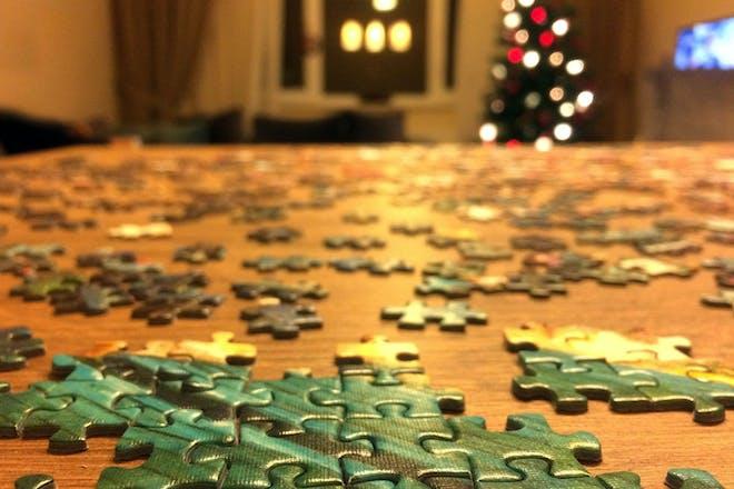 Xmas jigsaw puzzle