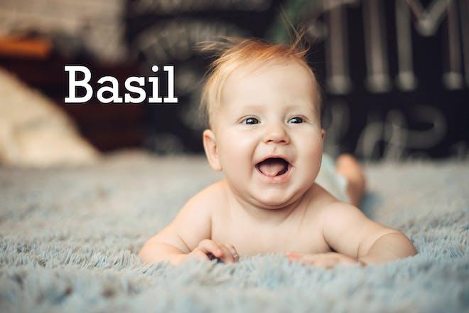 Basil baby name